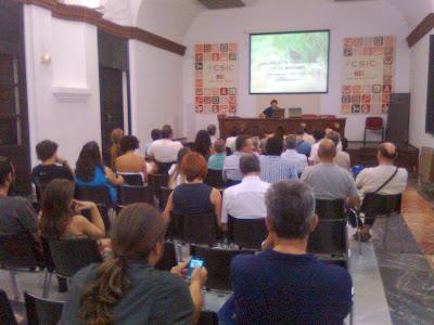 """Conferencia ornitológica organizada por el Grupo Local SEO-Sevilla de SEO/BirdLife en la Casa de la Ciencia de Sevilla. """"Polluelas y rascones. Fantasmas de nuestros humedales"""" por J. David Muñoz"""