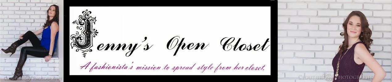 Jenny's Open Closet