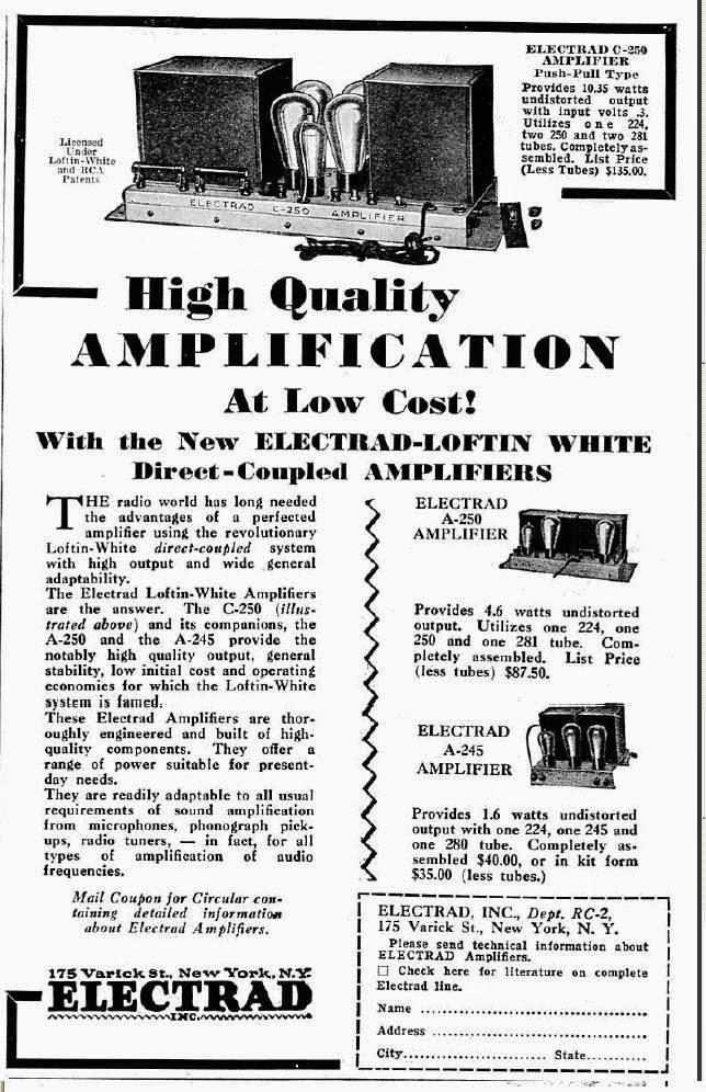 labels  electrad   loftin white