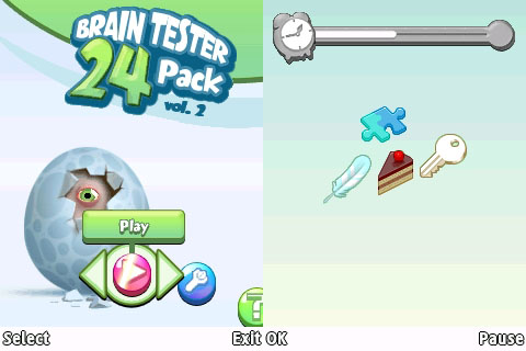 240x320 Java Game: Brain Tester 24-Pack | Corby 2 Downloads
