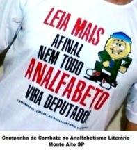 Campanha de Combate ao Analfabetismo Literário