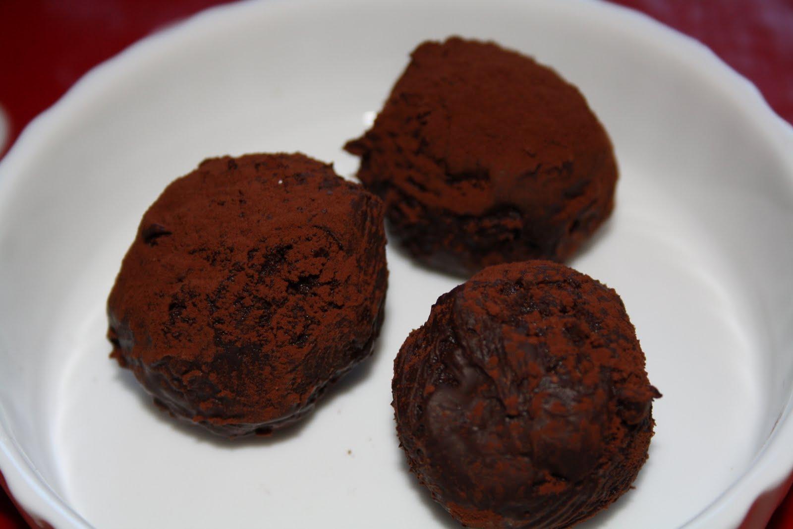 chokladtryffel med salt