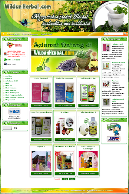 Jasa Buat Web Toko Online, jasa pembuatan website