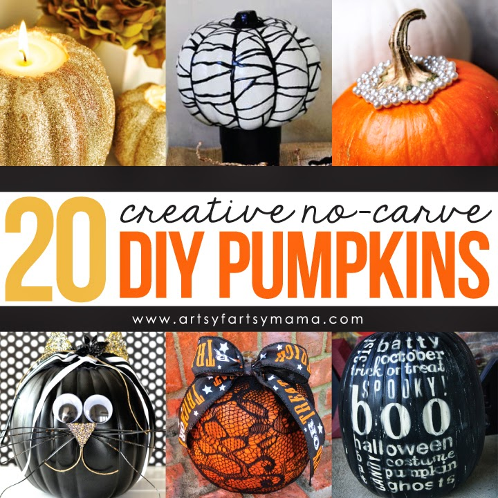 20 No-Carve Pumpkins