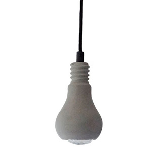 Edison betonnen hanglamp