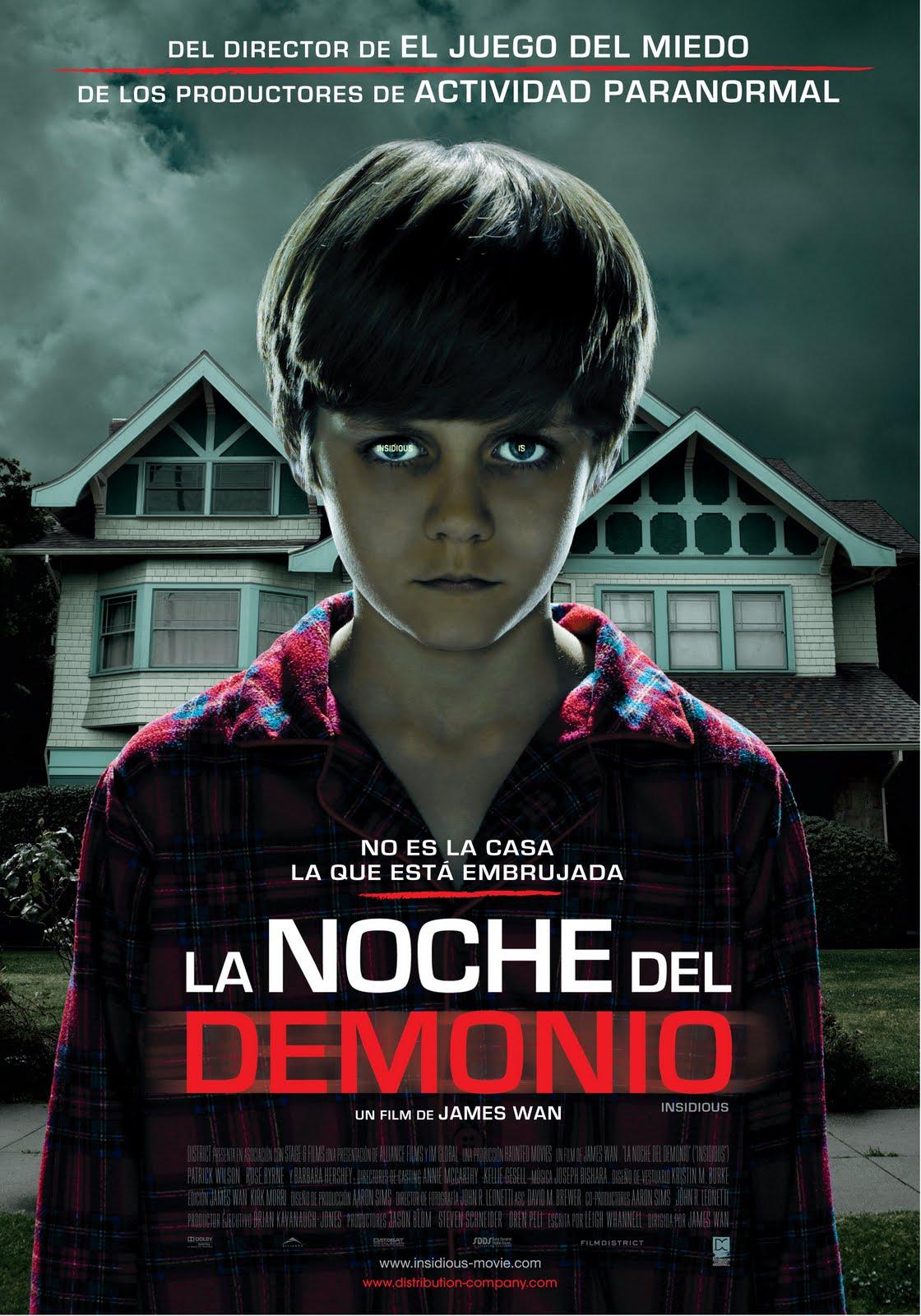 La Noche Con El Demonio. (INSIDIOUS) 1 Link sub Español