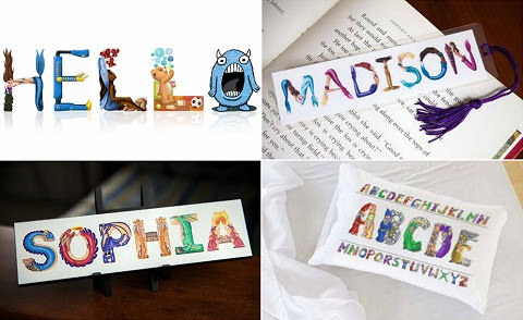 personalized kids art