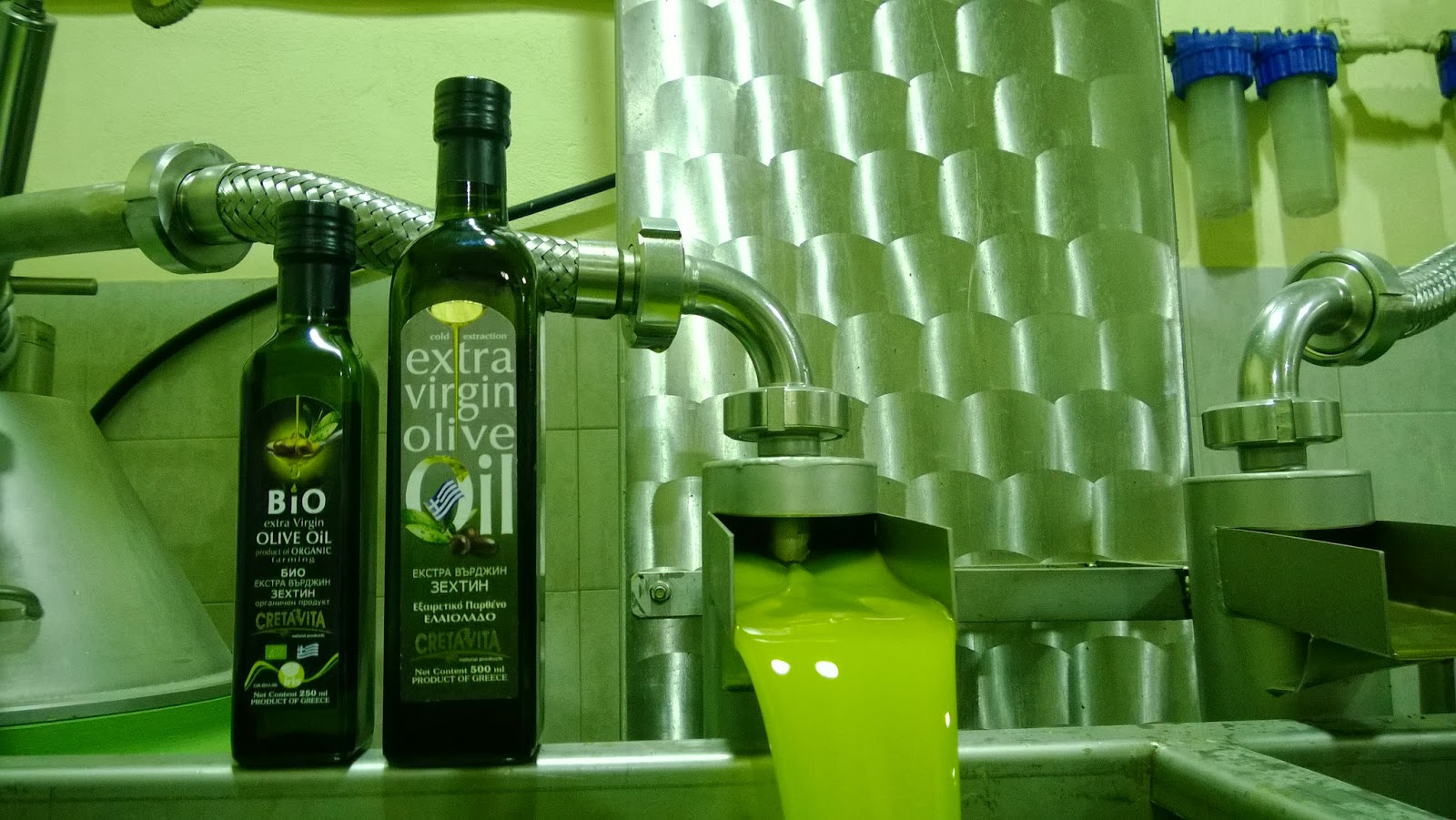 Cretan Extra Virgin Olive Oil
