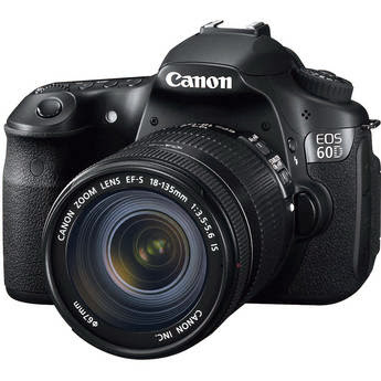 Canon 6D with Canon 18-135mm Zoom