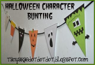Halloween Character Bunting