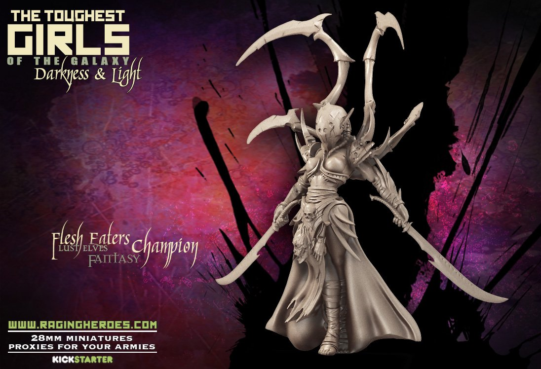 (Contest Ended... Awaiting Confirmation) Raging Heroes Flesh Eaters: Weekend Model Giveaway