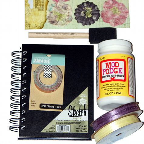 Modge Podge and Other Nifty Decoupage Crafting Supplies