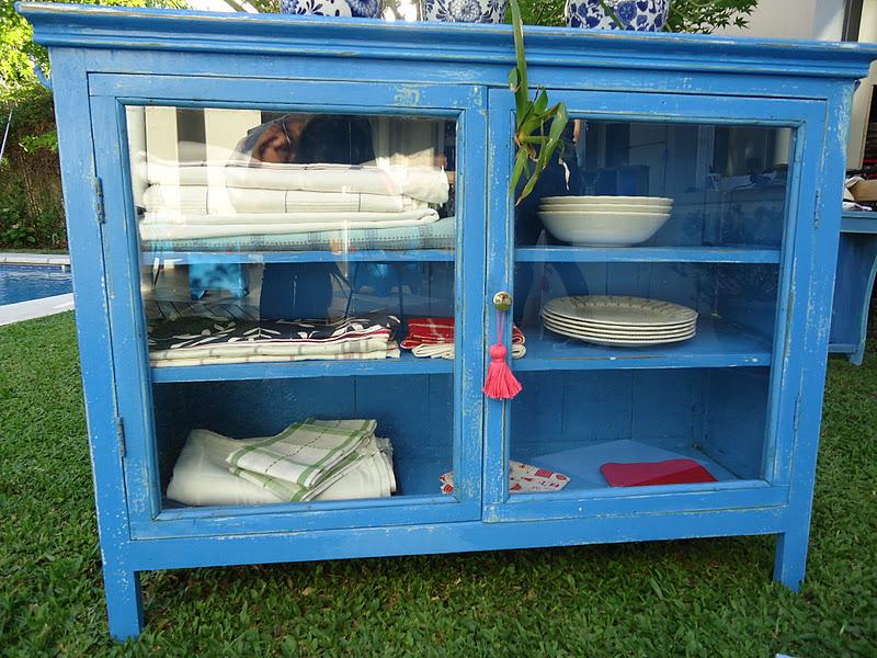 Vintouch muebles reciclados pintados a mano antigua for Muebles de campo