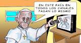 El negocio de la gira papal