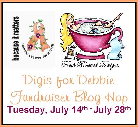 Fundraiser Blog hop starts 14 July extended to 17 August