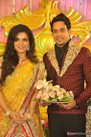 Celebraties at Actor Bharat n Jessy Wedding Reception Photos+%252834%2529 Actor Bharath n Jessy Wedding Photos