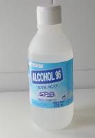 alcohol etilico etanol farmacia Experimentos Caseros