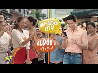 ALDUB TNT TV Ad - Kissing Scene in SloMo