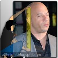 What is Vin Diesel's height?
