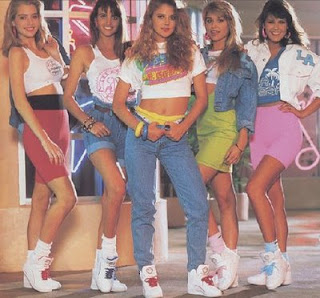 80s women fashion