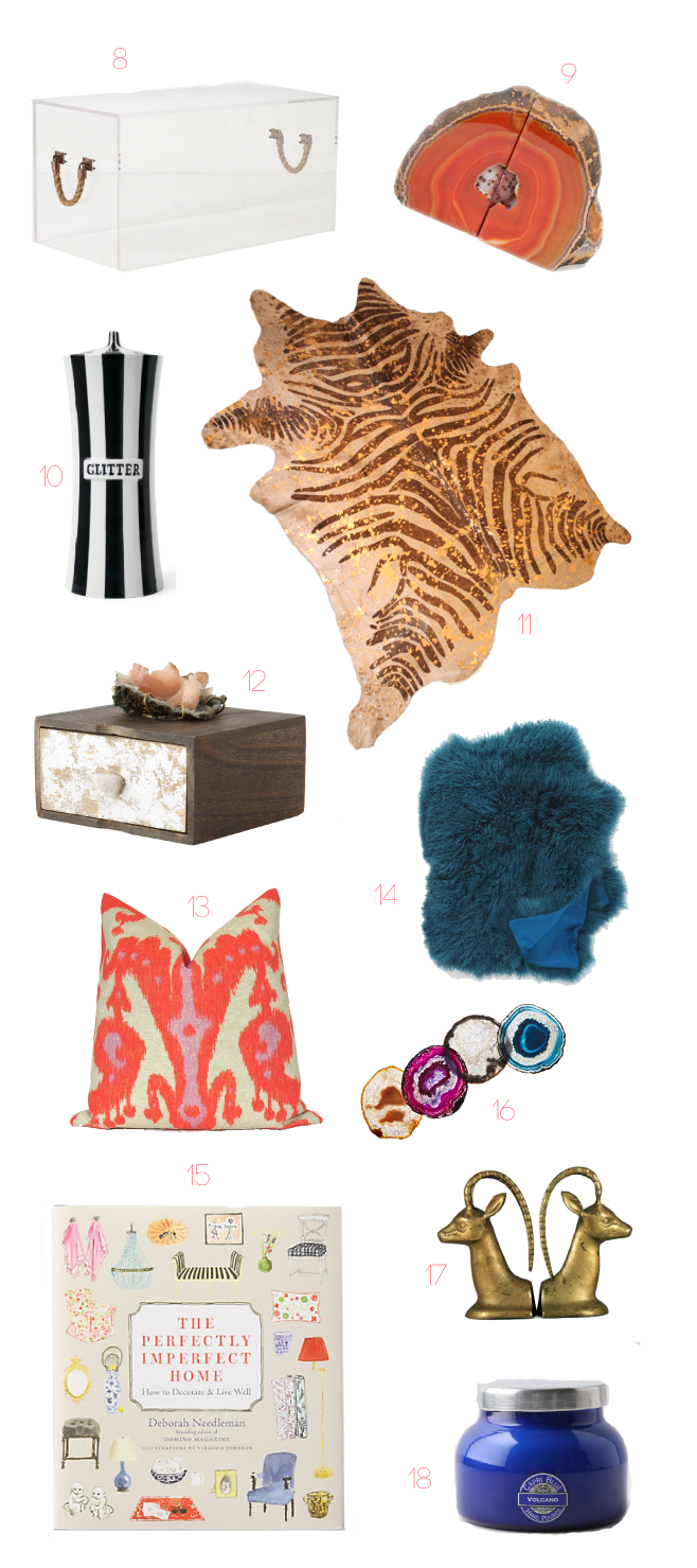 CORAL CAF Gift Giving Guide Home Decor