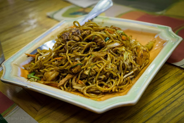 Mee Goreng of Banana Leaf