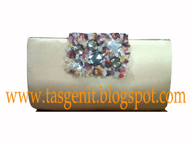 clutch bag tas pesta gold cantik