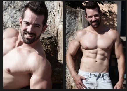 Fotos de homens pelados gostosos - Duda Borges.