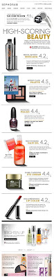 July 28, 2012 Sephora email