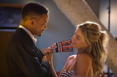 focus review reseña crítica margot robbie will smith