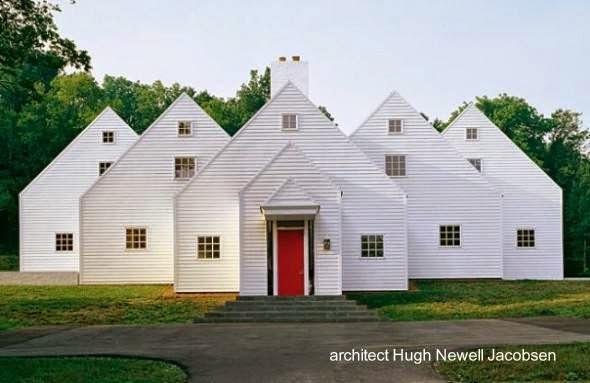 Casa posmoderna en Massachusetts, Estados Unidos
