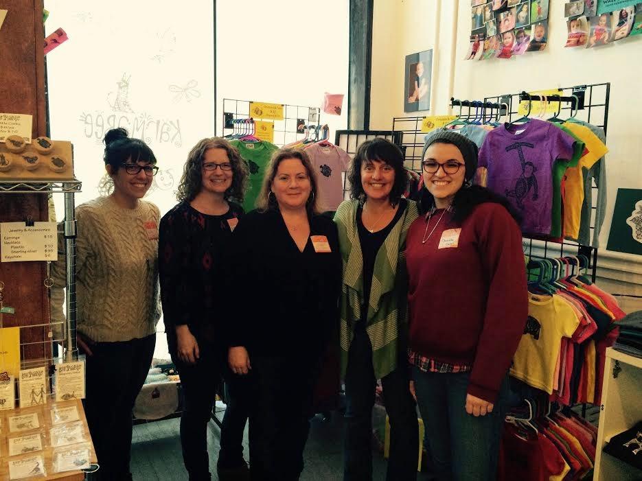 Etsy Visits Karmabee in Kingston, NY