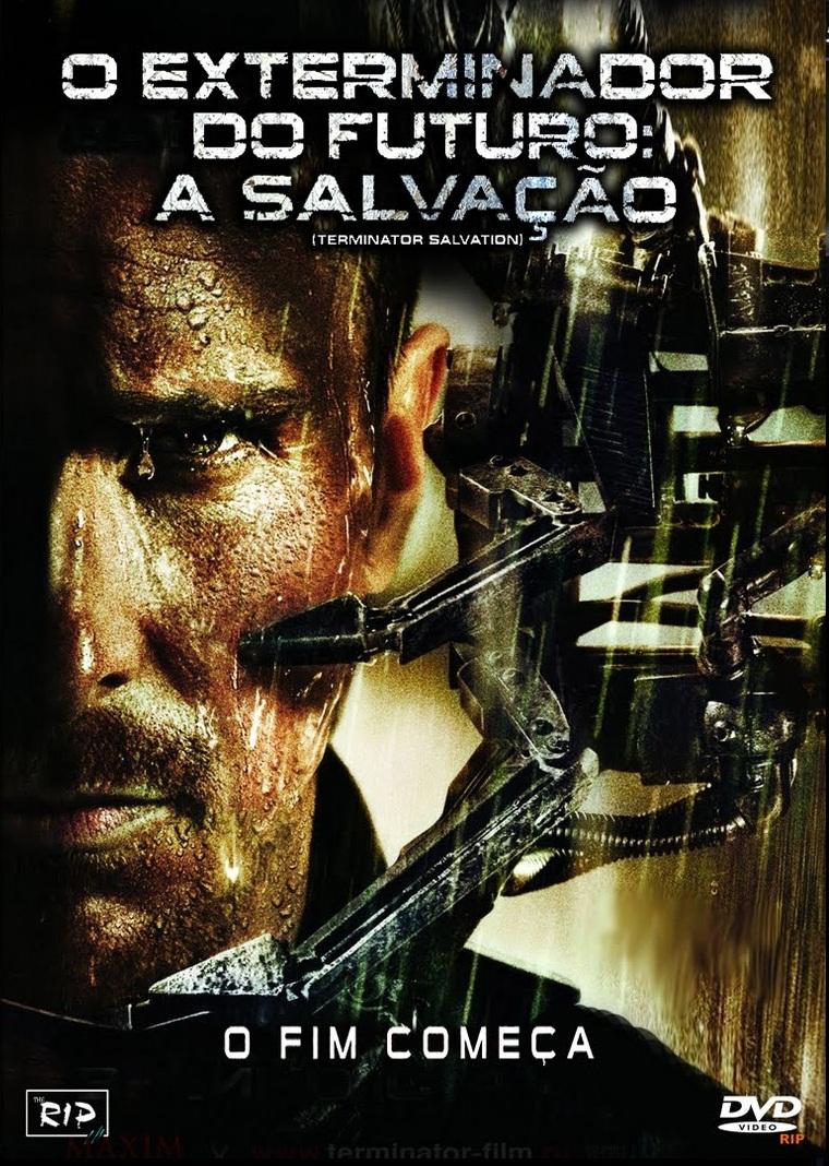 Capa O Exterminador do Futuro: A Salvação (2009) Torrent 720p 1080p 4k Dublado Baixar