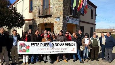 Revenga, este pueblo no se vende, contra la reforma local