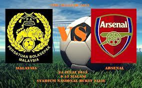MALAYSIA VS ARSENAL 24 JULAI 2012