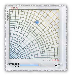 Voice morpher graph
