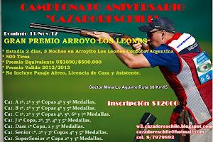 """"""" Primer Campeonato Aniversario Cazadoreschile """""""