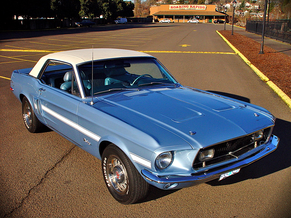 1968 ford mustang gt cs amazing super performance. Black Bedroom Furniture Sets. Home Design Ideas