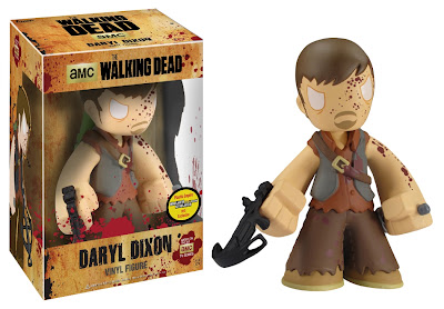 "Walker Stalker Con Exclusive The Walking Dead Bloody Daryl Dixon 7"" Mystery Mini Vinyl Figure by Funko"