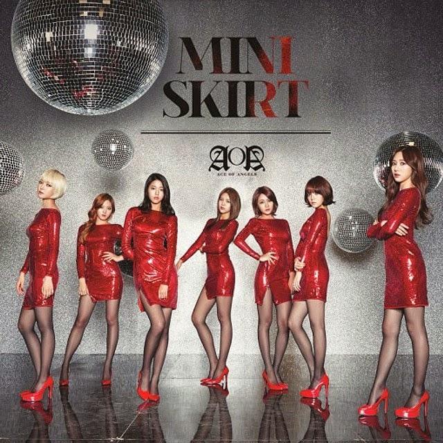 AoA Miniskirt Japanese Cover