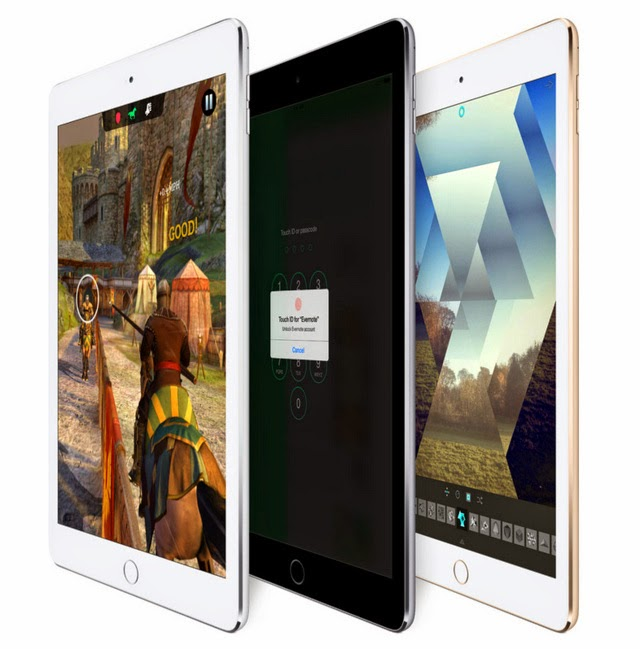 Apple rilis iPad Air 2, dibekali chipset A8X dan ketebalan hanya 6,1mm