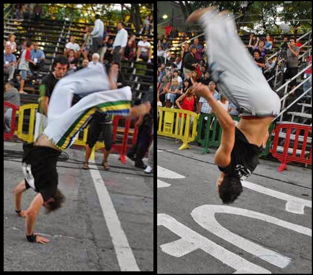 Desfile de Llamadas.Capoeira. Montevideo. 2011.