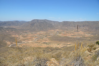 view of Campillo de Adentro from mountain
