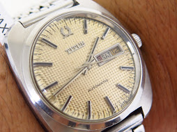 TITUS CREAM HONEY COMB DIAL - AUTOMATIC