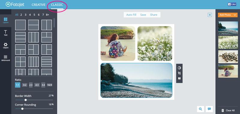 fotojet online creative image tool