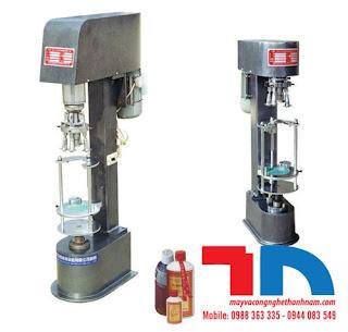 Máy xoáy và tạo ren chai nhựa PET, chai thủy tinh các loại giá rẻ hàng có sẵn