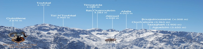 Refuge Toubkal Les Mouflons
