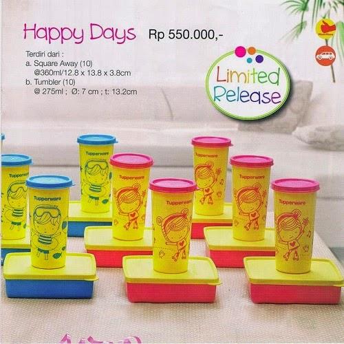 Happy Days Tupperware