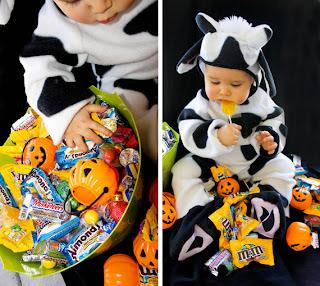 Fantasia para Halloween para criança pequena