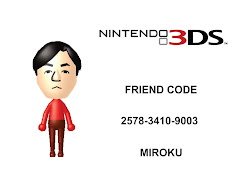Nintendo 3DS Friend Code